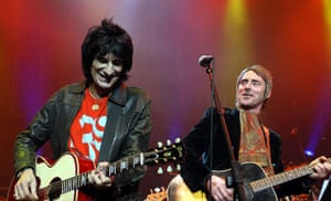 Paul Weller Timeline: Ronnie Lane and Paul Weller perform at The Royal Albert Hall