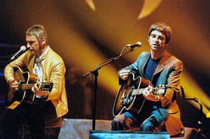 Paul Weller Timeline: Paul Weller performing with Noel Gallagher on Later with Jools Holland