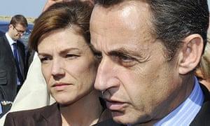 Nicolas Sarkozy and Chantal Jouanno