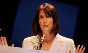 Carolyn McCall speaks at a GNM company briefing in 2008