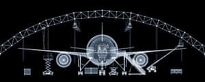 X-ray: Boeing 777 plane