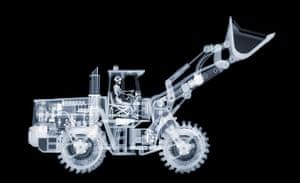 X-ray: A bulldozer