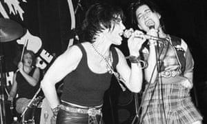 Photo of BIKINI KILL and Tobi VAIL and Kathleen HANNA and Joan JETT