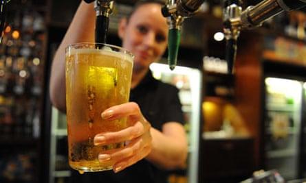 Pint of cider