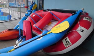 White water rafting centre opens | Cardiff | The Guardian