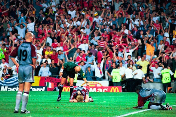 Football How Manchester United Won The Champions League In 1999
