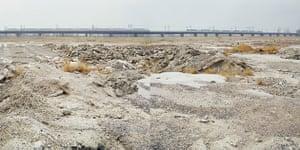 Beijing waste crisis: Construction Site for Beijing-Tianjin Intercity Railway