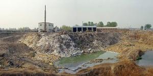 Beijing waste crisis: Huangchun Town of Daxing District