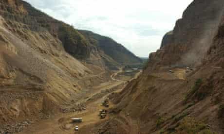 Hydro dam site at Omo river, Ethiopia