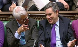 Alistair Darling and Gordon Brown
