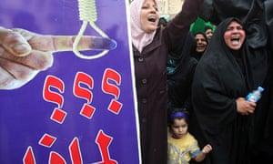 Nouri al-Maliki supporters in Iraq