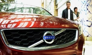 Volvo on sale in China
