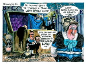 29.03.2010 Martin Rowson on punch and judy politics