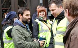 Save 6 Music protest: Adam Buxton and Gideon Coe