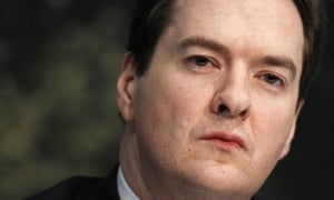 George Osborne at a press conference on 29 March 2010.