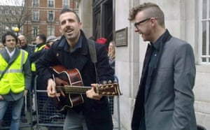 Save 6 Music protest: Indie band The Brute Chorus