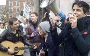 Save 6 Music protest: Black Soul Strangers
