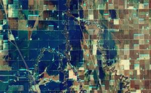 Satellite Eye: Flooding in North Dakota, near Fargo