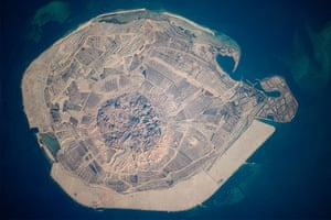 Satellite Eye: Sir Bani Yas Island in the Persian Gulf United Arab Emirates (UAE)