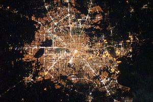 Satellite Eye: Houston, Texas at night
