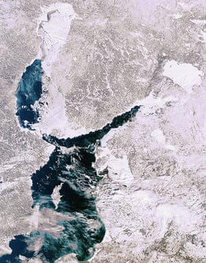 Satellite Eye:  the Baltic Sea