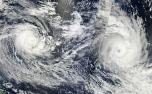 Satellite Eye: Tropical Cyclone Ului and Tropical Cyclone Tomas over South Pacific Ocean