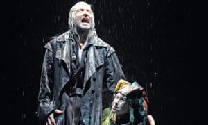 Greg Hicks and Kathryn Hunter in King Lear