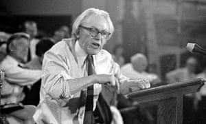 Michael Foot in April 1972.