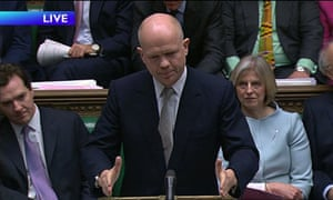 William Hague Prime Minister Questions 3 March 2010
