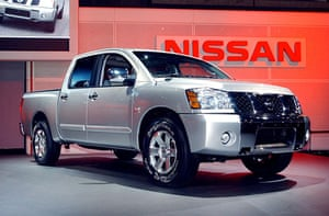 Recalled cars: Nissan Titan Crew Cab at the New York International Auto Show