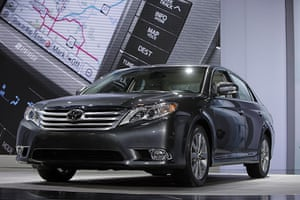 Recalled cars: Toyota Avalon at the 2010 Chicago Auto Show