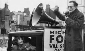 Michael Foot and Jill Craigie, 1950