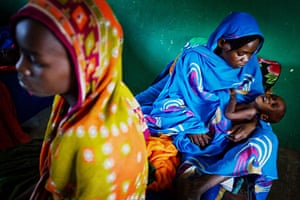 24 hours: therapeutic feeding centre supported by UNICEF near the border with Darfur