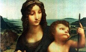Leonardo da Vinci's Madonna of the Yarnwinder