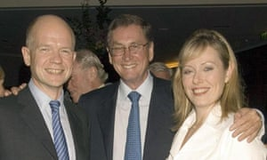 William Hague, Ffion and Lord Ashcroft