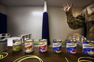Guantanamo Bay: Nasal feeding tubes, like those used to feed detainees on hunger strike