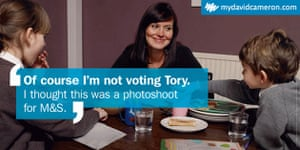 Election posters: Of Course I'm not voting Tory poster from mydavidcameron.com