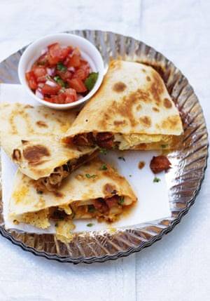 How to make quesadillas: How to make quesadillas