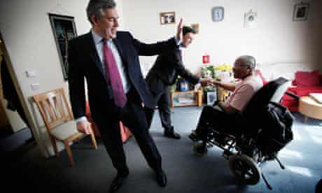 Gordon Brown and Andy Burnham