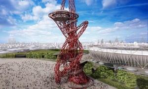 Anish Kapoor's Olympic tower design