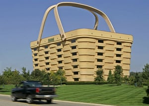 Funny buildings: The Longaberger building in Newark, Ohio