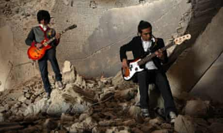 Rock Band Emerges In Post-Taliban Kabul