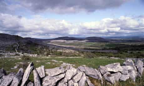 Wall in The Burren