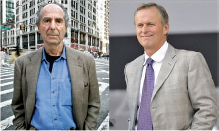 Philip Roth and John Grisham: two  of De Benedetti's phantom interviewees.