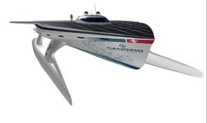PlanetSolar: PlanetSolar solar powered boat