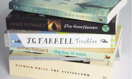 The Lost Man Booker Prize shortlist.