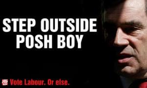 Gordon Brown campaign posters