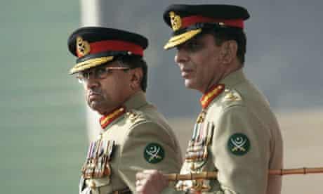 Pervez Musharraf, Ashfaq Kayani