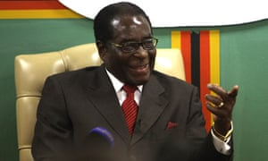 Robert Mugabe has endorsed the Conservatives