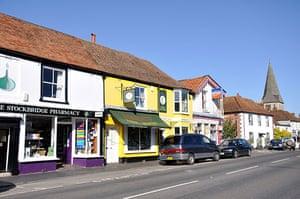 Google street view awards: Stockbridge High Street, Hampshire